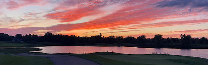 Bucks Run Golf Club Sunset