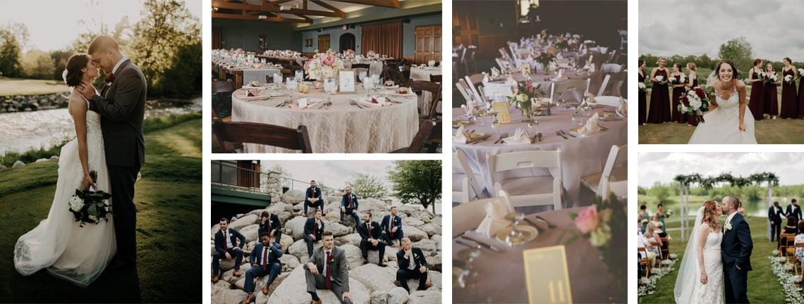 Bucks Run Golf Club Wedding Reception