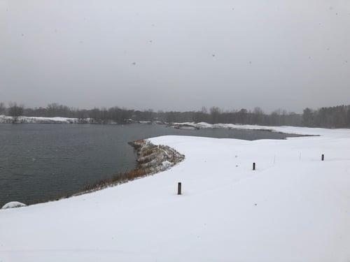 Golf Course Snow