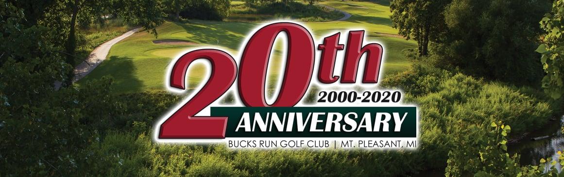 Bucks Run Golf Club 20th Anniversary