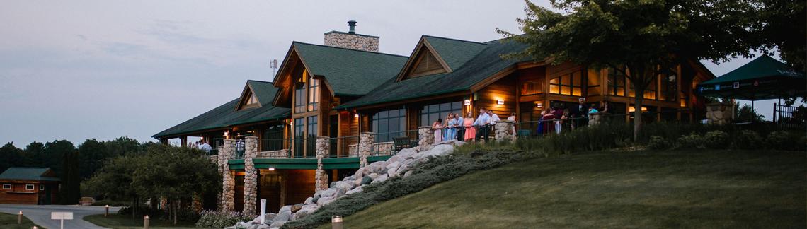 Bucks Run Golf Club Wedding Reception Outdoor Patio